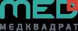 Логотип Медцентр Медквадрат на Каширском ш.