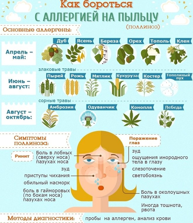 Поллиноз, аллергия
