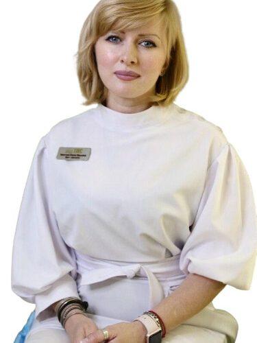 Врач Хвостова Елена Юрьевна