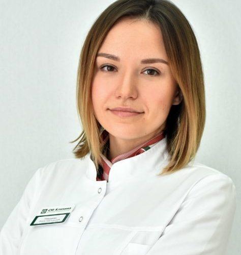 Врач Рамазанова Ольга Адильяровна