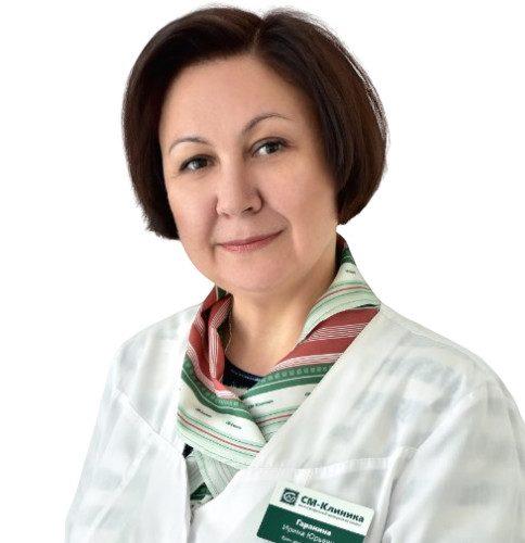 Врач Гаранина Ирина Юрьевна