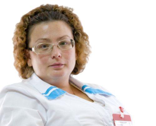 Врач Симонова Елена Федоровна